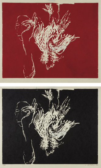 Dead Rooster (Red); and Dead Rooster (Black)