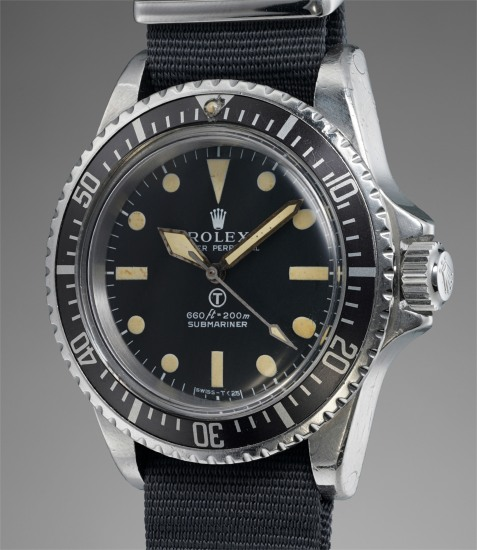 Rolex , A very rare stainless steel wristwatch with center