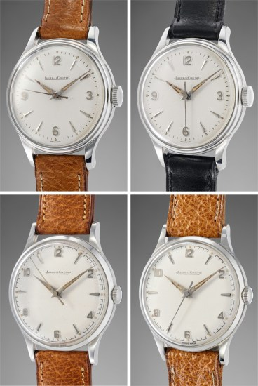 Lot of four time only stainless steel wristwatches in superb condition