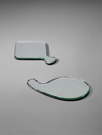 Two hand mirrors