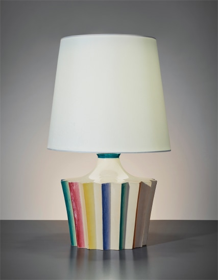 Gio Ponti Rare Table Lamp 1930 Phillips