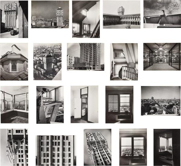 Twenty photographs of the Torre Velasca, Milan