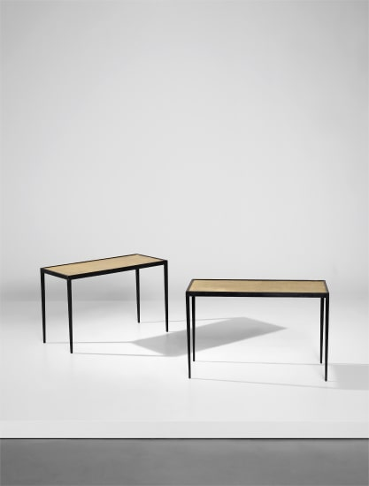Pair of low tables