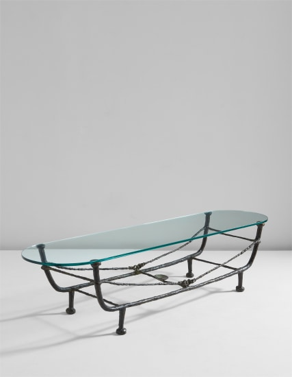 'Berceau' low table, first version