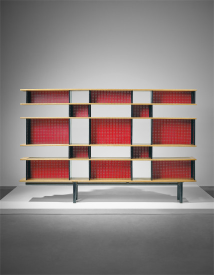 Important 'Antony' bookcase, designed for the Cité Universitaire, Antony
