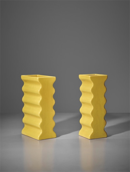 Two vases, model nos. 629 and 630, from the 'Onde' series