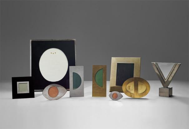 Set of nine picture frames