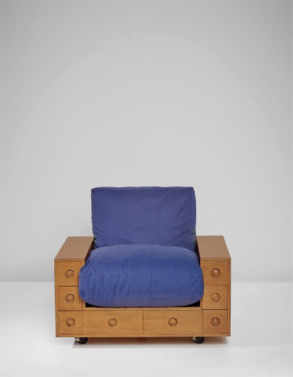 Armchair, from the 'Furniture with Drawers' series
