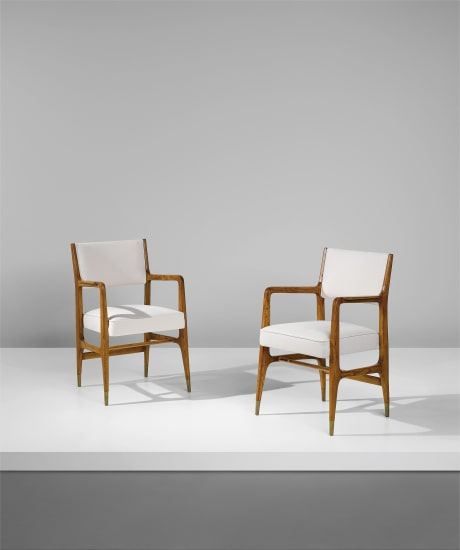 Pair of armchairs, model no. 110