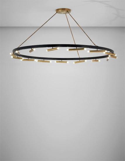 Large ceiling light, variant, model no. 2068
