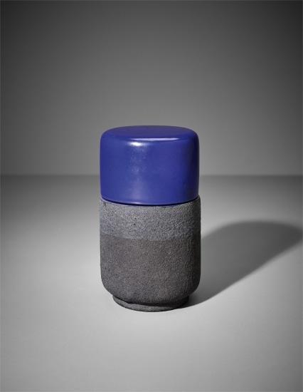 Lidded pot, model no. 198, from the 'Ceramiche di lava' series