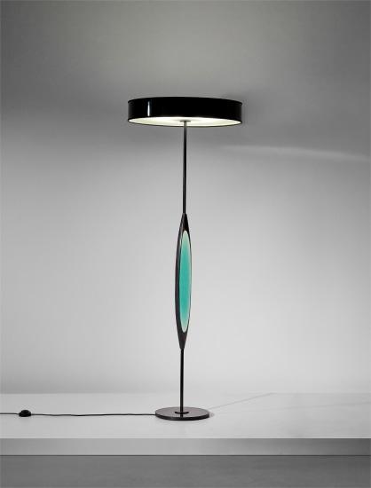 Rare standard lamp, model no. 2251