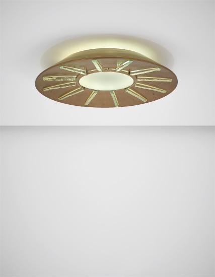 Rare ceiling light, model no. 2271