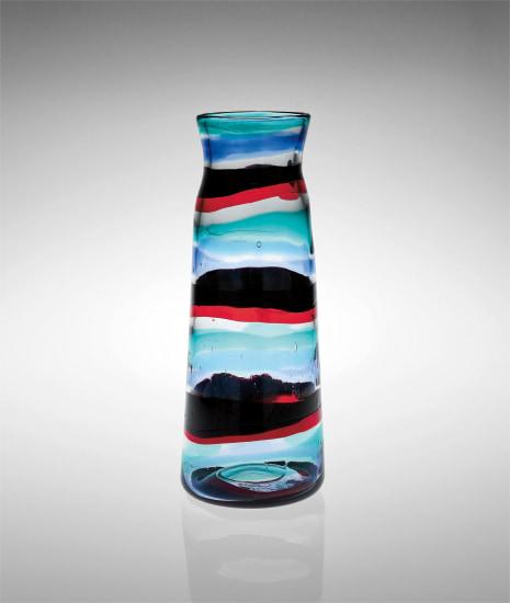 Ceramiche Bianconi Pietro.Fulvio Bianconi Fascie Di Colore Vase Model No 3839