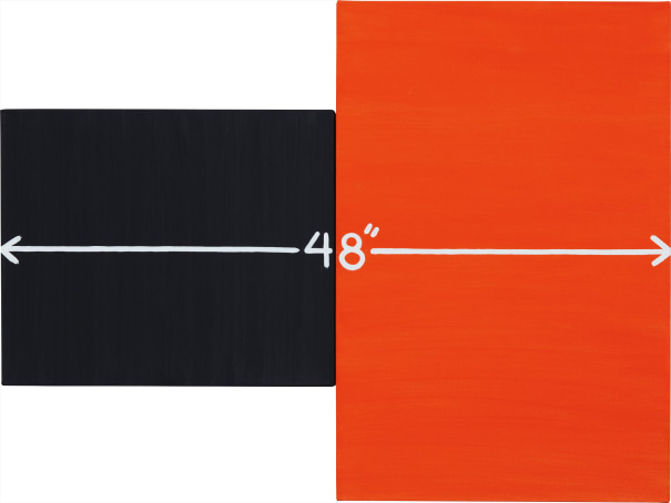 "Measurement: 48"" (Black/Red)"