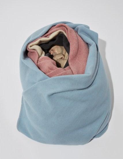 Man in Blankets