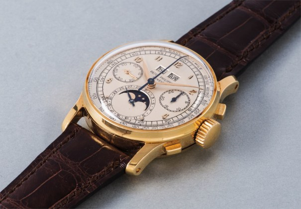 Patek Philippe - An exceptional and extremely rare gold perpetual