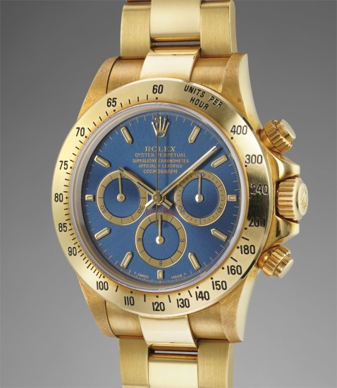 save off 963af 3f8de Rolex - An extremely rare and highly attractive yellow gold ...