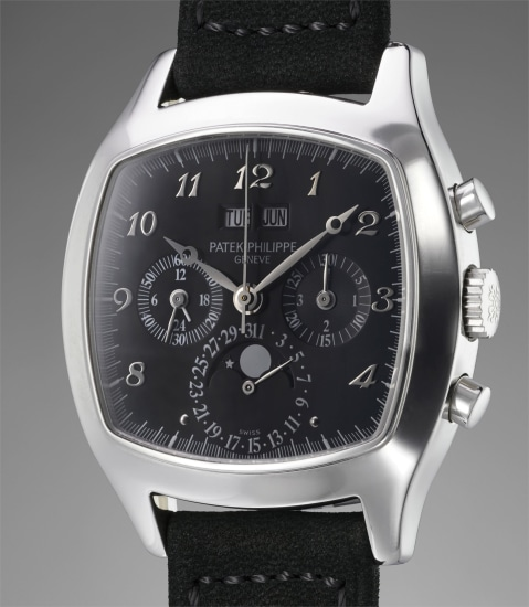 0783900d45a Patek Philippe - An impressive and most probably unique cushion ...
