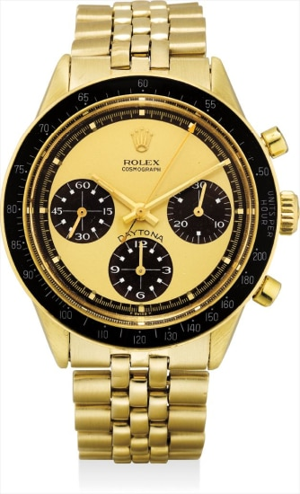 d341077cda2 Rolex - An extremely rare, fine and attractive 14k gold chronograph ...
