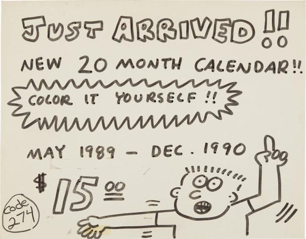 Pop Shop Signage (Calendar)