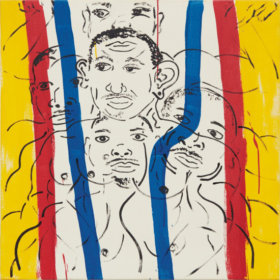 Red-Yellow-Blue #16 (Portrait of Adolpho)