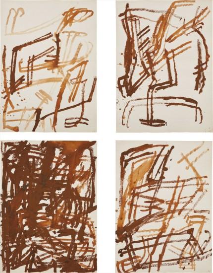 Four works: (i) Untitled IV; (ii) Untitled VI; (iii) Untitled VII; (iv) Untitled X