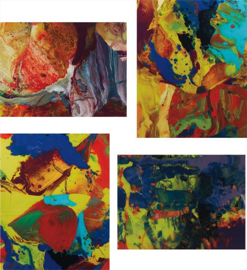 Four works: (i) Ifrit (P8); (ii) Bagdad (P9); (iii) Bagdad (P10); (iv) Aladin (P11)