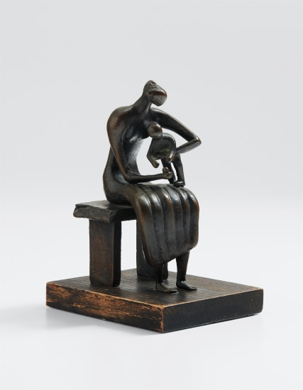 Maquette for Mother and Child with Apple