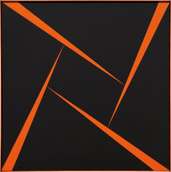 Untitled (Orange and Black)