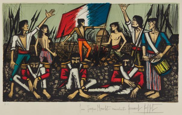 La prise des Tuileries (The Capture of the Tuileries)