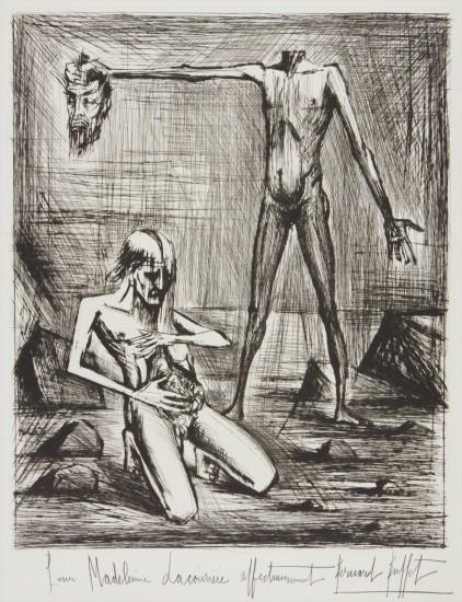 L'Enfer – tête (Hell's Head), from L'Enfer de Dante (Dante's Inferno)