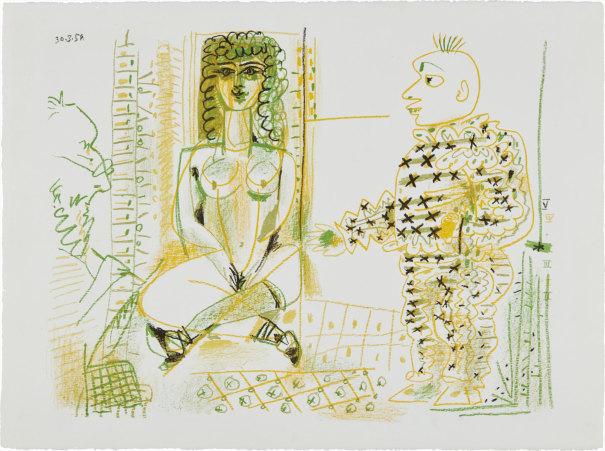 Le peintre et son modèle (The Painter and his Model)