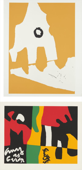 X + X (Ten Works by Ten Painters): three works