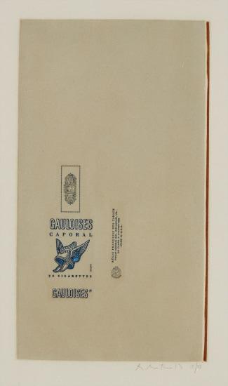 Gauloises bleues (Raw Umber Edge)