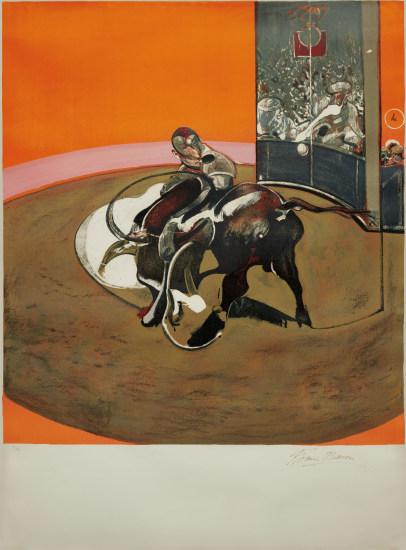 Étude pour une corrida (after Study for a Bullfight No. 1, 1969)