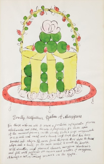 Dorothy Killgallens Gateau of Marzipan, from Wild Raspberries