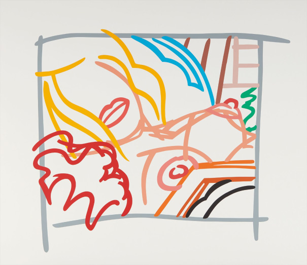 Bedroom Blonde Doodle with Photo