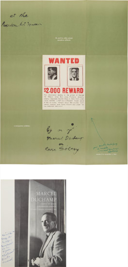 "A Poster Within a Poster; and Cover for ""Marcel Duchamp: A Retrospective Exhibition"""