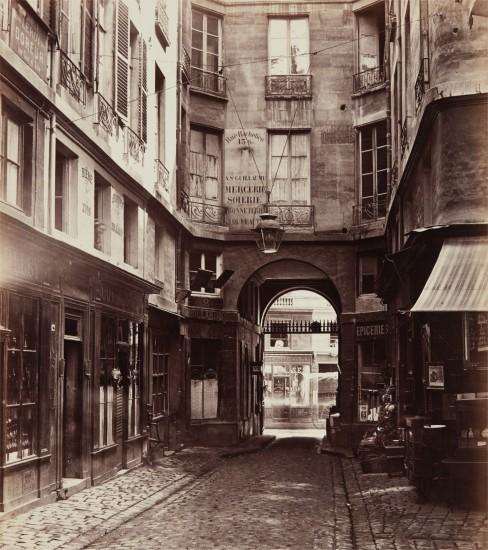 Passage Saint-Guillaume vers la rue Richelieu