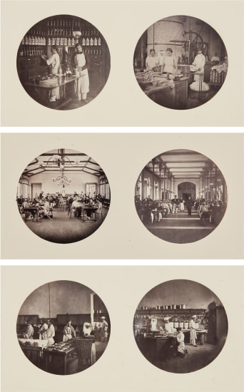 Selected Images from Asile Impériale de Vincennes