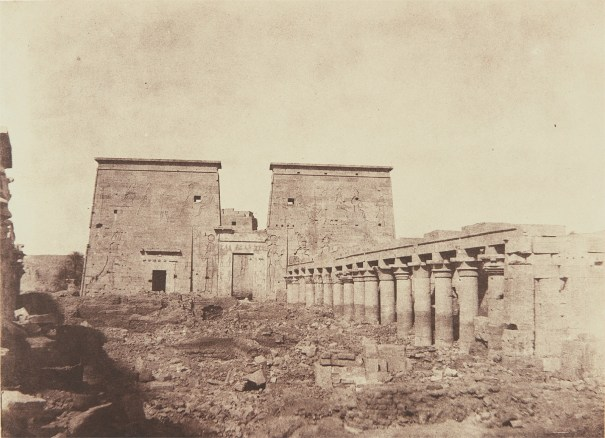 Island of Fila, Colonnades and First Pylon