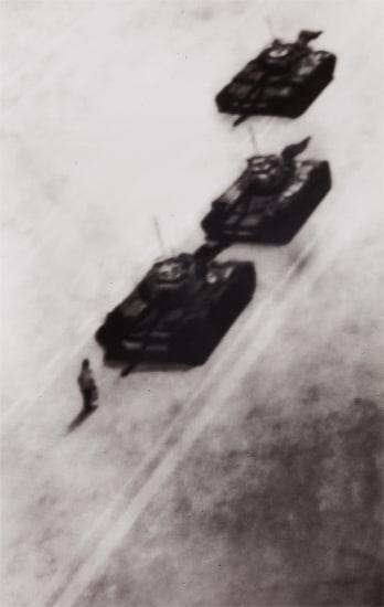 Memory Rendering of Man Stopping Tank in Beijing