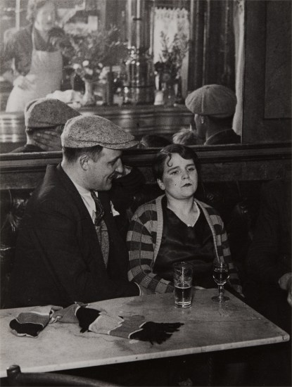 Couple in a Bistro