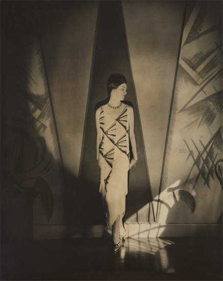 Anita Chase in a Vionnet Gown