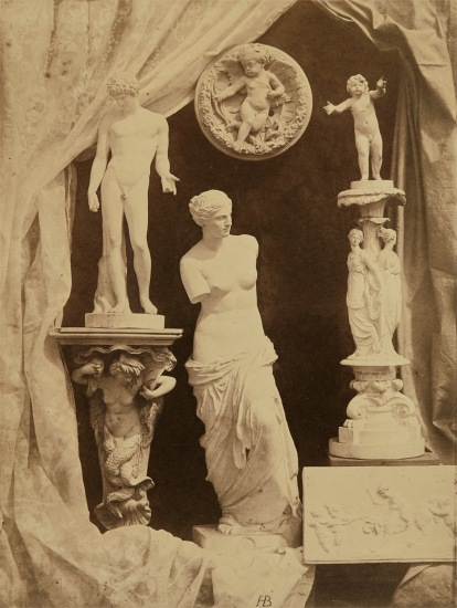 Untitled (Still life with statuary)