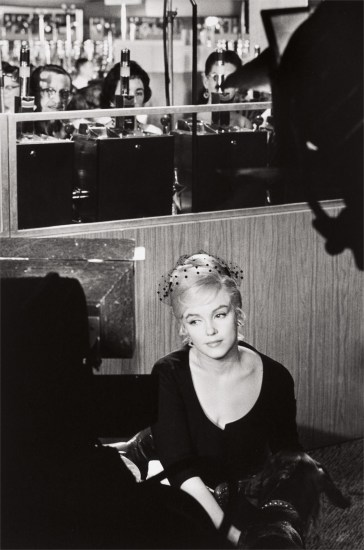 Marilyn Monroe during the filming of 'The Misfits,' Nevada