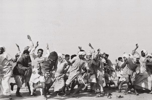 Games in a refugee camp at Kurukshetra, Punjab, India