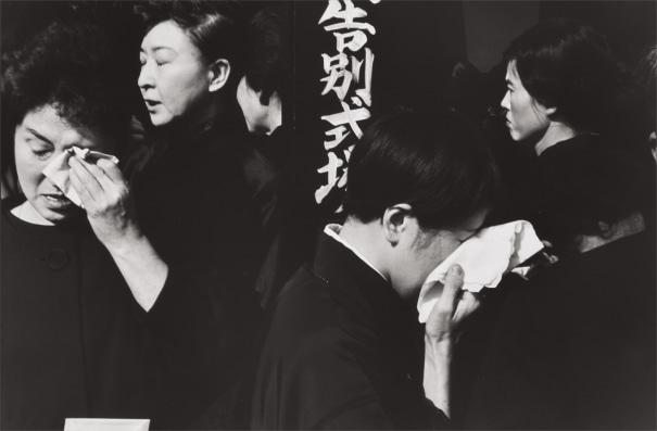 Shinto funeral for the late Kabuki actor, Ichikawa Danjūrō XI, Tokyo, Japan