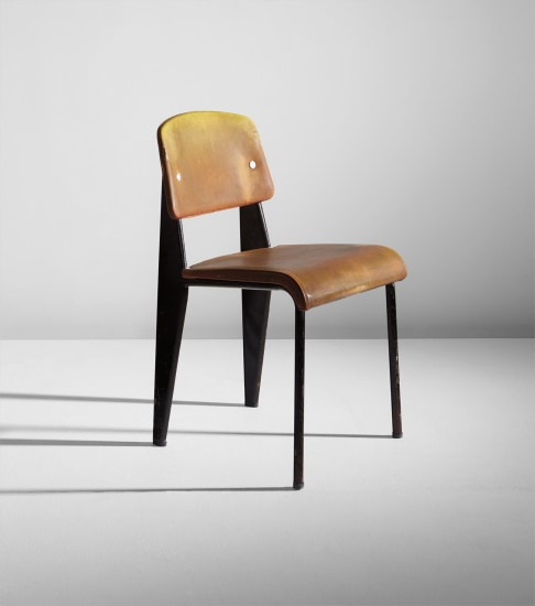 """Semi-metal"" chair, model no. 306"
